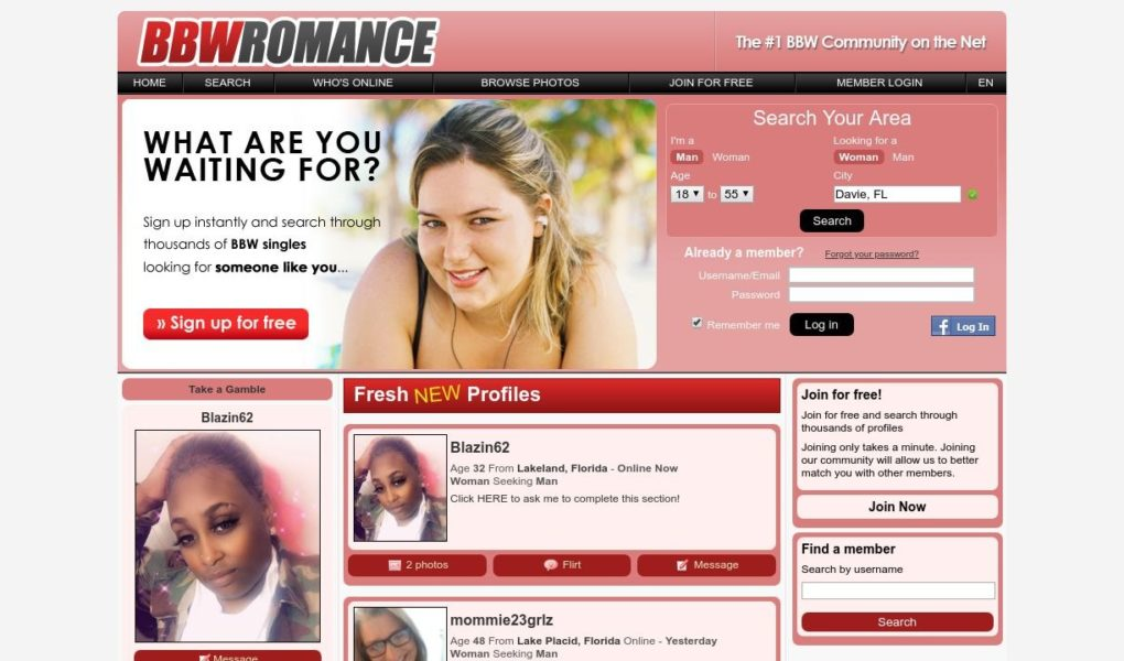 Review Bbw Romance Site Post Thumbnail